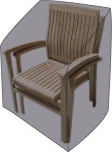 LEX Schutzhülle für Stapel- und Relaxstühle, 65 x 65 x 120/80 cm, Tragetasche