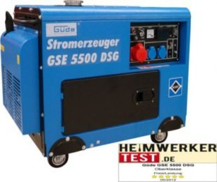Güde GSE 5500 DSG Stromerzeuger