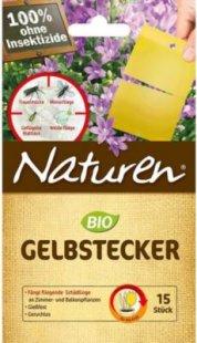 CELAFLOR® Naturen® Gelbstecker, 10 Stück, teilbar auf 15