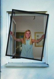 Schellenberg Insektenschutz-Fenster Plus, anthrazit, 100x120 cm