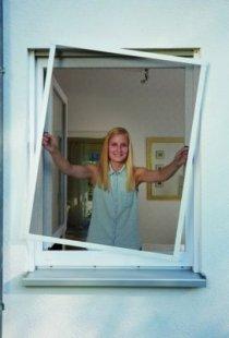 Schellenberg Insektenschutz-Fenster Plus, weiß, 100x120 cm