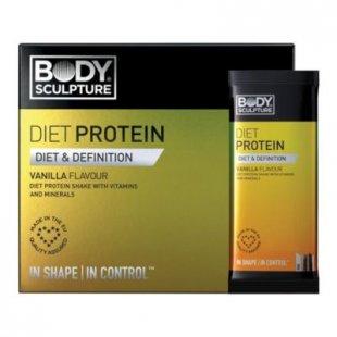 Body Sculpture Diät-Protein Geschmacksrichtung Vanille, 10 x 30g-Beutel