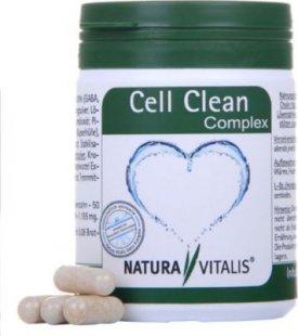 Natura Vitalis Cell Clean Complex - Zur natürlichen Unterstützung des Entgiftungsprozesses