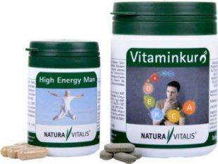 Natura Vitalis Vitaminkur für den Mann + High Energy Man