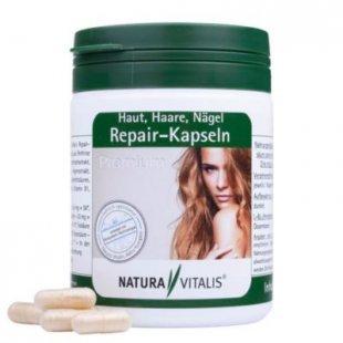 Natura Vitalis Repair Kapseln premium - Für Fingernägel, Haut und Haare