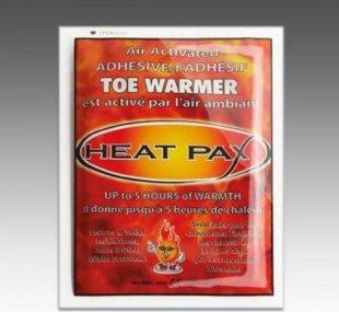 Heat Pax Wärmepack Zehenwärmer 1 Paar Toe Warmer 5 Stunden Wärme