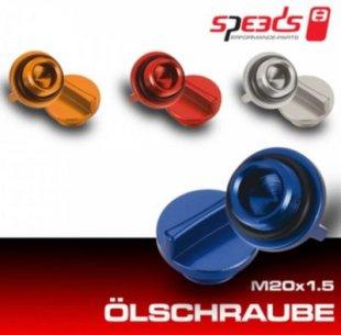 Speeds Öleinfüllschrauben orange M20 x 1.5 Hyosung 4T