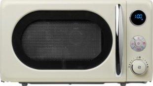Retro Mikrowelle MEDION® MD 18028 mit 800 Watt & 1.000 Watt Grill