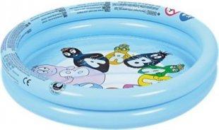 Jilong 2 Ring Pool Barbapapa 61 - Kinder Planschbecken, für Kinder von 1- 3 Jahren, 61 x 12,5 cm