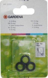 Gardena Dichtungssatz Dichtung Set Flachdichtung Anschlussnippel Hahnstück ORing O-Ring f. Anschlussnippel