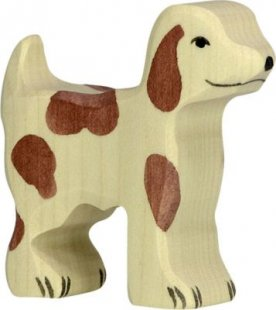 Holztiger 80059 Hofhund, klein, braun (1 Stück)