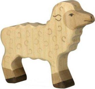Holztiger 80076 Lamm, weiß (1 Stück)