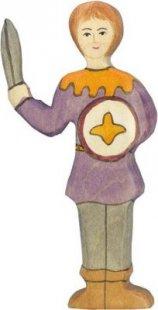 Holztiger 80242 Junge, violettes Hemd, mehrfarbig (1 Stück)