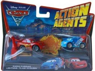 Mattel Disney Cars 2 Fahrzeuge Lightning Caroule Mc Queen Kinder Spielzeug Auto