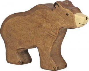 Holztiger 80183 Braunbär, braun (1 Stück)