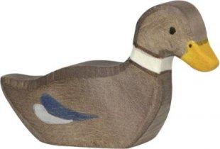 Holztiger 80024 Ente, schwimmend, braun (1 Stück)