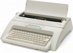 OLYMPIA Carrera de luxe MD Schreibmaschine mit Display