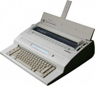 OLYMPIA Startype MD Schreibmaschine mit Display