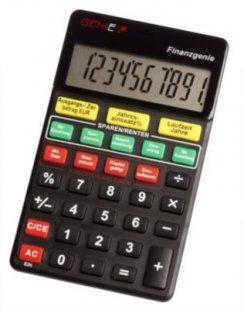 GENIE Finanzgenie Taschenrechner