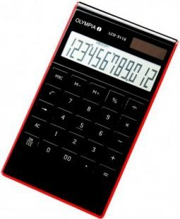 OLYMPIA LCD 3112 Tischrechner, schwarz