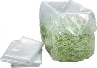 HSM Plastiksäcke für Aktenvernichter B22, B24, 104.3, 105.3, 108.2 - 100 Stück