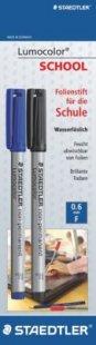 Staedtler Schulmaterialien - Feinleiner Non-Permanent schwarz/blau
