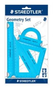 Staedtler Schulmaterialien - Geometrie Set 4tlg. blau