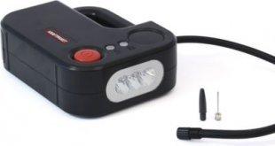 Dino 136308 Kraftpaket 2in1 Kompressor mit LED-Lampe 12 V 120 W