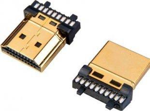 Lyndahl HDMI Lötsteckverbinder Stecker (AM), 19polig - LKHDMICON19