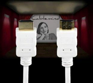 Cablemind High Speed HDMI-Kabel mit Ethernet Kanal, verschiedene Längen Länge: 2 m