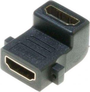 Lyndahl LKPA009 HDMI 1.4 Winkeladapter, 90 Grad, für Panelmontage