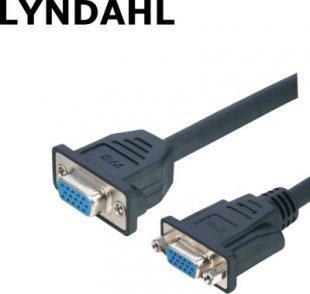 Lyndahl LKPK009 VGA Adapterkabel f. Frontplattenmontage (2x Buchse), 0,2m