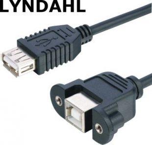 Lyndahl LKPK007 USB 2.0 Adapterkabel zur Frontplattenmontage (BF/AF) 0,2m