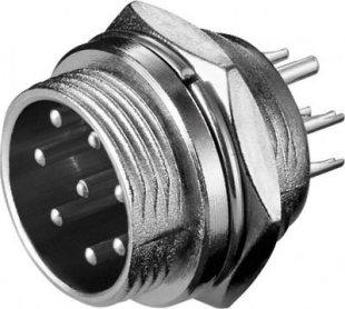 Goobay Mikrofoneinbaustecker, 8-polig, XLR-ME 8