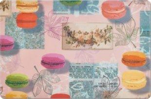 Zeller Platzset ´´Macarons´´, PP, pink, Maße: 43,5x28,5 cm