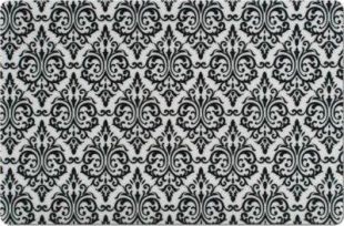 Zeller Platzset ´´Vintage´´, PP, schwarz, Maße: 43,5x28,5 cm
