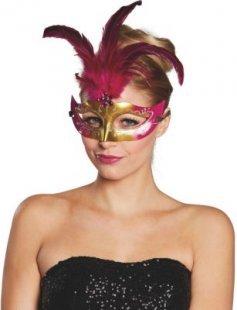 Karnevals Masken federmasken Ven