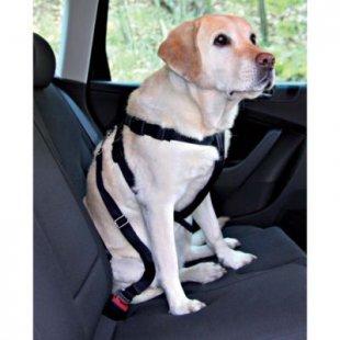 TRIXIE - Auto-Sicherheitsgeschirr, schwarz - XL