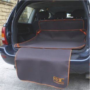 Heim RAC Kofferraummatte mit Stoßstangenschutz