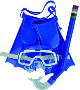 Jilong Kid Dive Set II Kinder Tauchset Schnorchelset mit Tauchmaske / schwimmbrille, Flossen / Schimmflossen, Taucherschnorchel / Schnorchel für Kids von 3 bis 6 Jahre