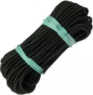 10T Stangengummi ShockCord Ø 3mm Länge 10 Meter elastischer Kordel Faden zum Verbinden von Fibergals Zeltstangen Verbindungsgummi Gunmmiband elastisches Band für Fiberglasgestänge