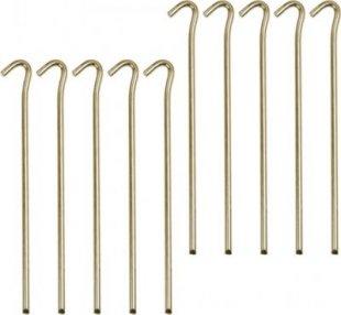 10T PEG IT 10RH 23SV - Stahl Zelt-Hering 10er-Set, 7mm x 23 cm