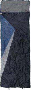 10T Rockfort - Einzel Decken-Schlafsack mit Kopfteil 220x80cm Polycotton blau bis -8°C