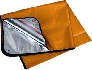 Trekmates Thermo Blanket - Thermo-Decke orange/silber 130x200cm 359g