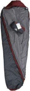 10T Hatfield XL Camping Schlafsack bis -8°C Outdoor Mumienschlafsack 210x75cm Hüttenschlafsack mit leichten 800g Trekking Reiseschlafsack für 2 - 3 Jahreszeiten Frühling Sommer Herbst