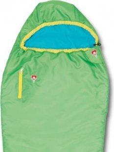 Grüezi bag Mitwachsender Schlafsack für Kinder, grün