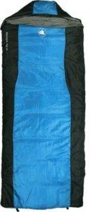 10T Selawik 150 Camping Schlafsack bis -2°C Outdoor Deckenschlafsack 200x80 cm Hüttenschlafsack mit 1400g Trekking Reiseschlafsack für 2 - 3 Jahreszeiten Frühling Sommer Herbst