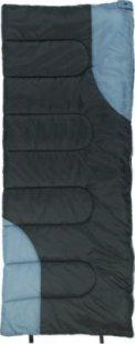 10T Hudson XL Camping Schlafsack bis -13°C Outdoor Deckenschlafsack 200x80 cm Hüttenschlafsack mit leichten 1400g Trekking Reiseschlafsack für 3 / 4 Jahreszeiten Frühling Sommer Herbst