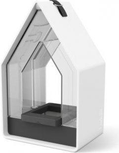 Emsa Landhaus Futtersilo 15x24, weiß/granit
