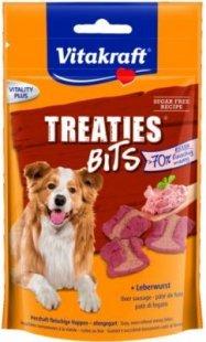 Vitakraft Hundesnack Treaties Bits Leberwurst - 120g